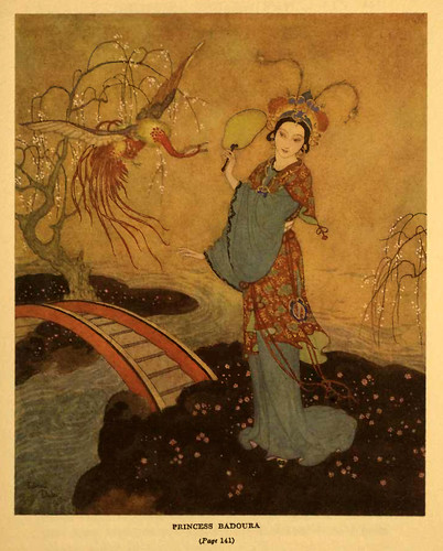 011- La historia de Badoura princesa de china