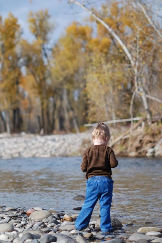 Eliana at the River
