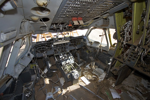 Air Jamaica - Airbus A300B4-203 (6Y-JMS) - Flight Deck