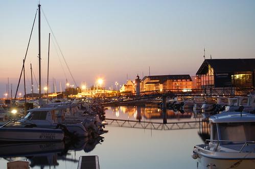 Les lumières du port