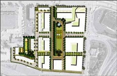 site plan (by: EBL&S, SMWM)