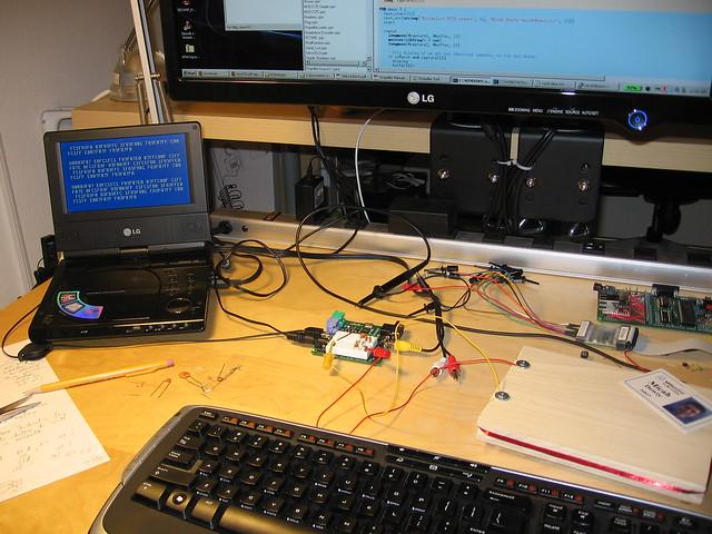 Prototype RFID reader