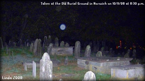 orb in the Old Burial Grounds