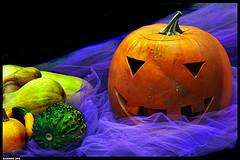 Хеллоуин натюрморт