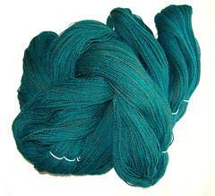 Turquoise Corriedale-Alpaca
