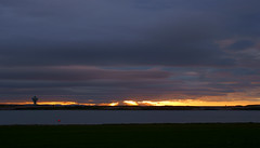 Evening Fire (Mortarman101) Tags: sunset sky clouds marina docks evening peaceful crosby lightrays bootle merseyside
