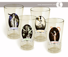 Wormwood Pint Glasses!