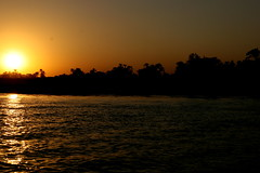 Sunset over The Nile, Luxor