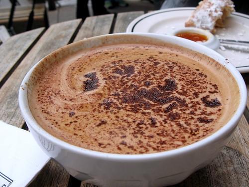 Mocha at Cafe Fanny