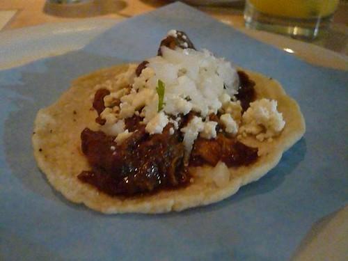 mole taco