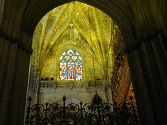 Cathedral (Graça Vargas) Tags: españa canon sevilla spain cathedral stainedglass vitral ph227 graçavargas ©2008graçavargasallrightsreserved 2001220109