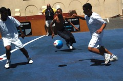 Practice (southafricadoc) Tags: soccerpractice capetown westerncape southafrica streetsoccer worldcup homelessworldcup demetriuswren christinaghubril melbourne australia soccer football futball hiphop musicvideo