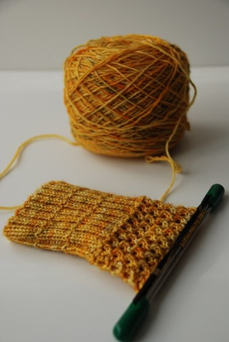 TTL mystery sock (by aswim in knits)