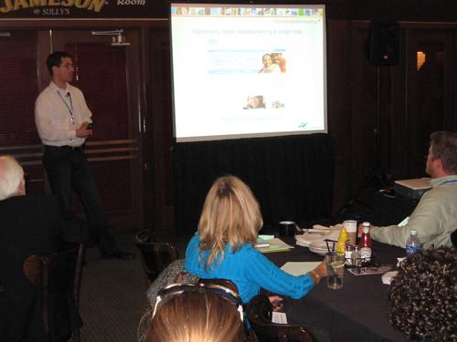 Bridge Agency talk at Sullys Bar