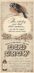 Old Crow (hunter..) Tags: bluegrass kentucky ad whiskey alcohol whisky bourbon distillery oldcrow vintagead whiskies