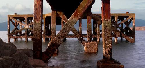 Below Portencross pier 18Nov08