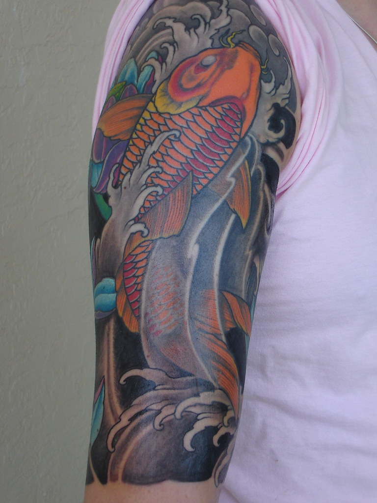 Koi Fish Tattoo for Men