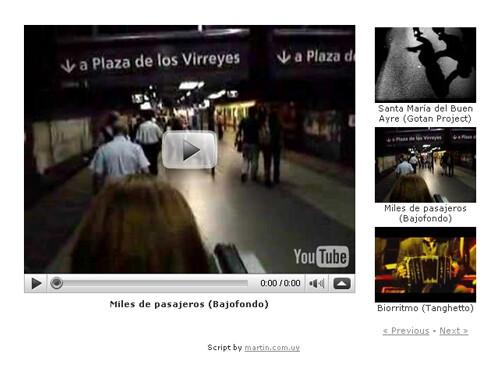 listaDeVideos