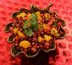 Pomegranate salsa (Contra Costa Times)