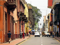 Photographing Lima's colonial centre
