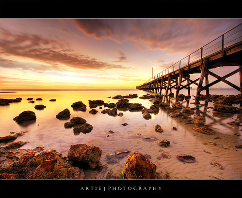 Moonta Bay Jetty, South Australia :: HDR