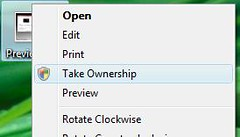 How To Take Ownership Of A File In Vista