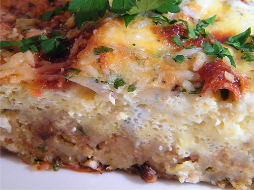 Stuffing Frittata by MyLastBite.com