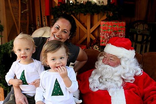 Santa loved them