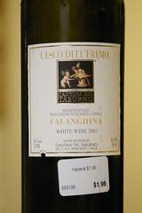 2003 Cantina del Taburno Cesco Dell'eremo Falanghina