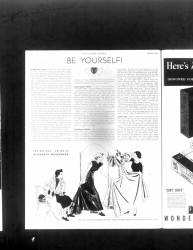 be yourself ladies home journal Feb 1936
