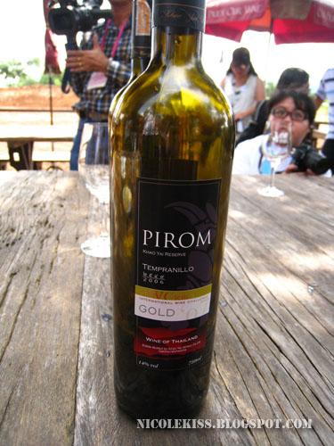 gold award pirom red wine