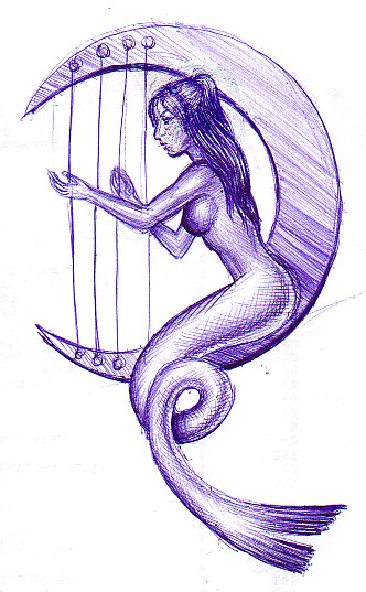 Sirena cantand
