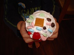 Sam's creative cupcake