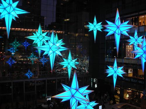 Columbus Circle Snowflakes