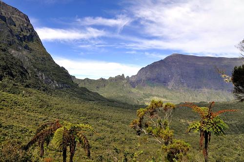Plaine des Tamarins, cirque de Mafate, Réunion
