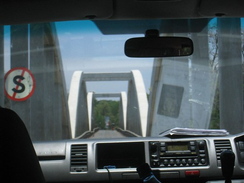 One of the six southern border crossings between South Africa and Botswana