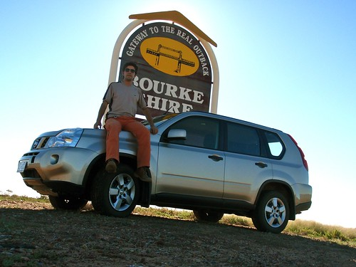 Entrada al Outback