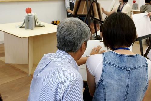 2009年長岡造形大学6月デッサン教室