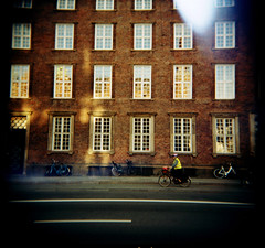 Copenhagen (Etienne Despois) Tags: travel copenhagen square holga