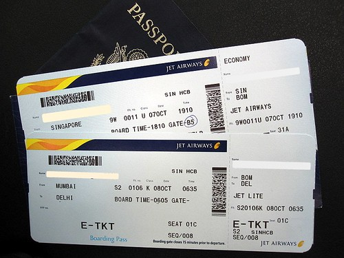 Tickets To India Jet Airways To Mumbai Then New Delhi A Photo On