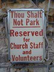 God enforced parking