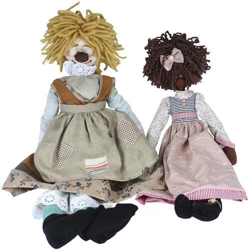 Bonecas de Pano Vovós by PARANOARTE