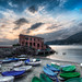 The Boat House (HDR – Levanto, Italy) by blame_the_monkey