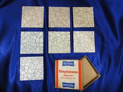 Congoleum-Nairn Vinylstone Asbestos Floor Tile Set (Asbestorama) Tags: vintage tile 60s floor inspection vinyl retro safety sample 1960s flooring survey hazard resilient salesman 1964 nairn asbestos covering congoleum specifier