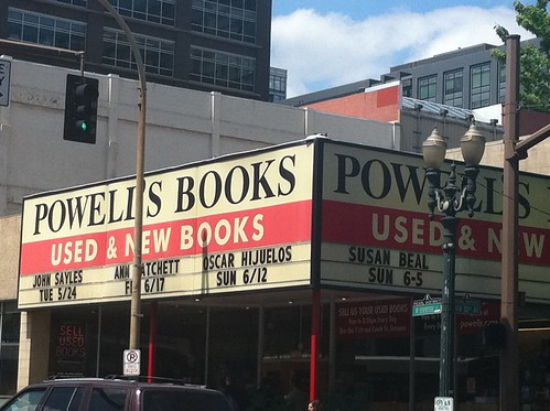 me at Powell's