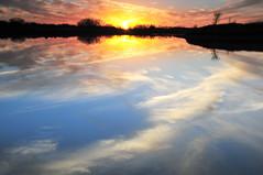 Cirrus Dreams (NaturalLight) Tags: park sunset creek dreams kansas prairie wichita cirrus chisholm chisholmcreekpark
