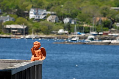 GOODBYE CRUEL WORLD (ONE/MILLION) Tags: ocean new old travel vacation england history water statue boston angel marina docks buildings boats outdoors pier town photo google search interesting woods kiss flickr locals hole image time photos provincetown massachusetts newengland lifestyle first visit images ornaments shops cape local goodbye cod tours falmouth find interest rockport onemillion williestark