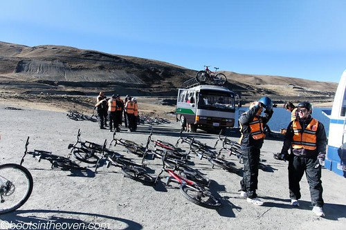 Bikes, preparing to meet their riders