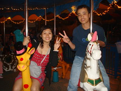 merry go round....la la la (UH FAMILY) Tags: trip family smile colourful nhatrang unun
