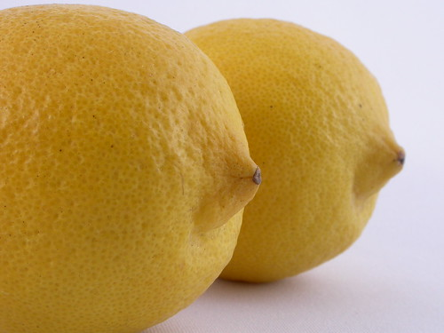 Lemons - a rare treat